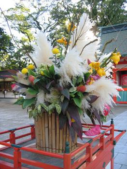 住吉神社in博多&不思議なフラワーアレンジメント3