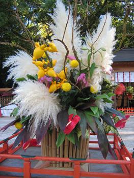 住吉神社in博多&不思議なフラワーアレンジメント4