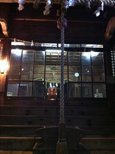 元旦の杜屋神社