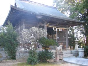 杜屋神社拝殿