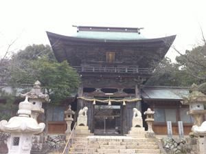 龍王神社楼門
