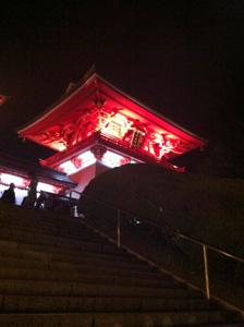 元旦の赤間神宮楼門